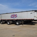 ZFS 2008 East three-axle dump trailer